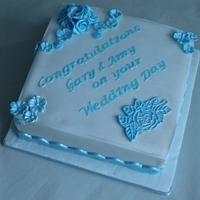 Wedding cake :) by Sue
