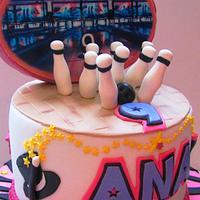 Bowling cake by COMANDATORT