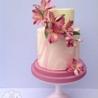 Pretty in Pink - cake International Tutorial