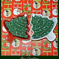 Christmas Tree Chocolate Cake
