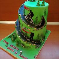 Mountain cake by KamiSpasova