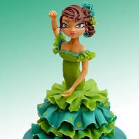 Sevillana - Flamenco Dancer