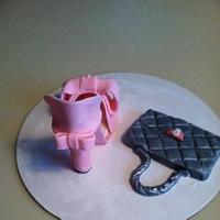 Shoebox Cake by Patty Cake's Cakes