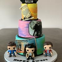 Supernaturals Cake