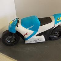 3D Motorbike cake