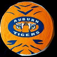 Auburn Tigers Cricut Cake