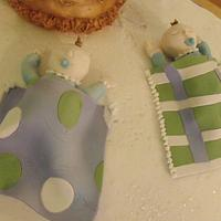 Baptism cake  by Ming
