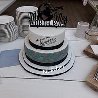 Weddingcake journey all over the world