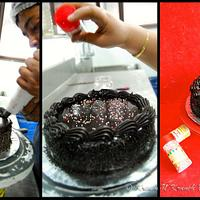 Making of a Cake :)