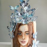 Butterflies girl by Dsweetcakery