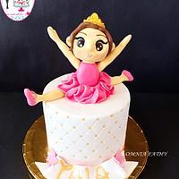 Ballerina`s cake