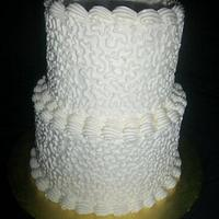 Two Tier Cornelli Lace by caymancake