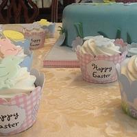 """Easter """"Bunny"""" Cake by Katie Cortes"""
