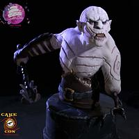 Azog the defiler - CakeCon collaboration