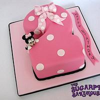 Minnie Mouse Number 2 Birthday Cake