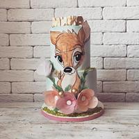 Bambi cake and cookies