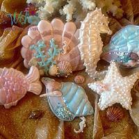 Under the Sea Sugar art Collaboration