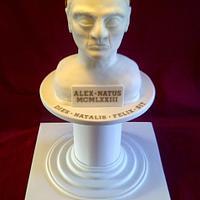 "Roman Bust Cake ""Augustus Brutus"""