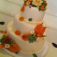 Wedding Cake- (Fall Theme)