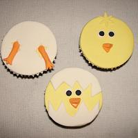 Easter Cupcakes - Little Chicks