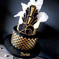Gatsby cake by Radoslava Kirilova (Radiki's Cakes)