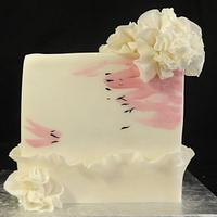 Pink and White with Ruffles
