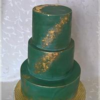 Elegant cake for man