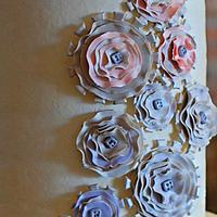 Steampunk 'Light' Wedding Cake  by lorieleann