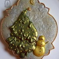 Christmas cookie practice