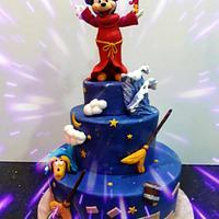 Mickey  Mouse Fantasy Cake