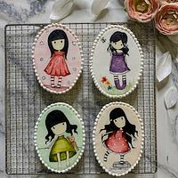 Handpainted sugar cookies