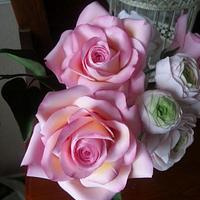 Pure Indulgence. Sugar flowers  by La Lavande Sugar Florist