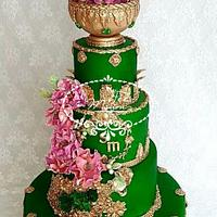 A Henné ceremony cake