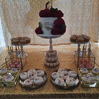 Wedding sweettable  by Cake Rotterdam