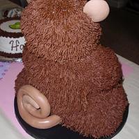 3D Monkey Cake by Dayna Robidoux