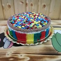 Colourfull cake
