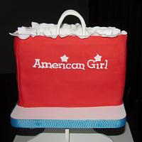 American Girl Cupcake Tower