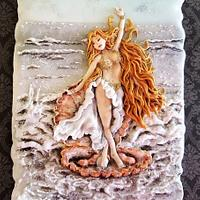 Story of a Mermaid......Under the Sea Sugar Art Collaboration