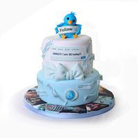 'Fritter' cake - FB & Twitter