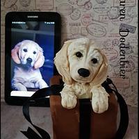 Puppy topper by Karen Dodenbier