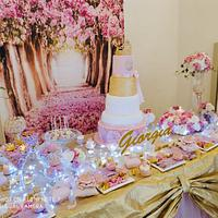 Princess sweet table