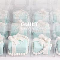 Tiffany Cake + Mini Cakes by Guilt Desserts