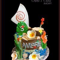 Vaïana's Cake