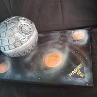 Deathstar cake