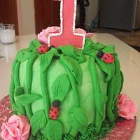 ladybug cake Enchanted Cakes