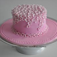 Mini Flower Cake by Jessica