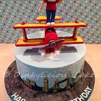 Wing walker Cake
