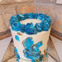 Buttercream bday cake