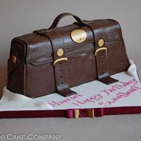 Brown Handbag Cake