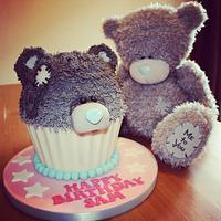 Me to You Giant Cupcake
